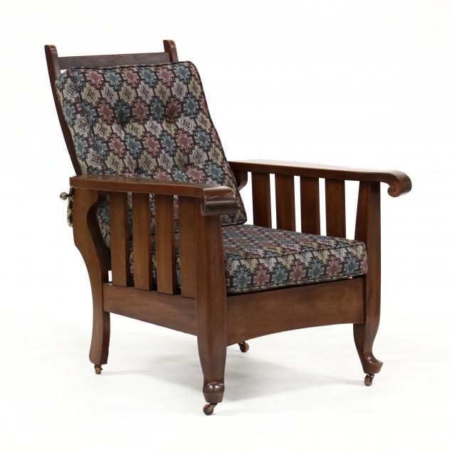 antique-mahogany-morris-chair
