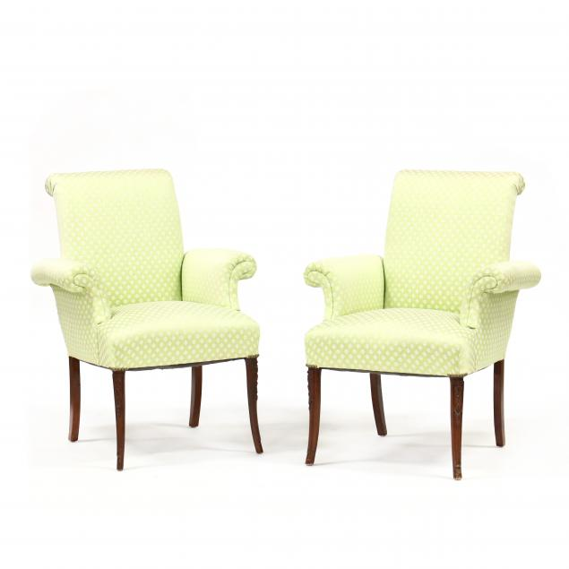 a-pair-of-vintage-upholstered-mahogany-fireside-chairs