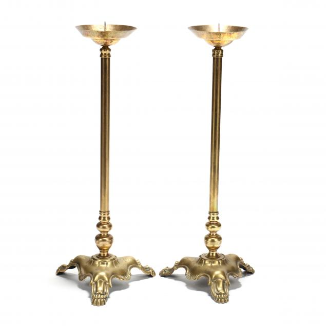 a-pair-of-large-continental-brass-pricket-sticks