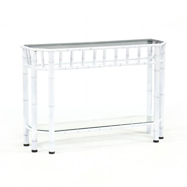 hollywood-regency-style-painted-console-table
