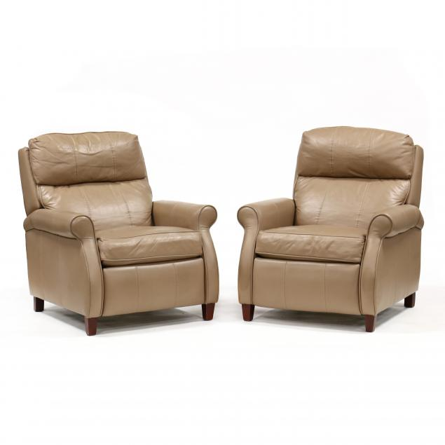 comfort-design-pair-of-leather-recliners