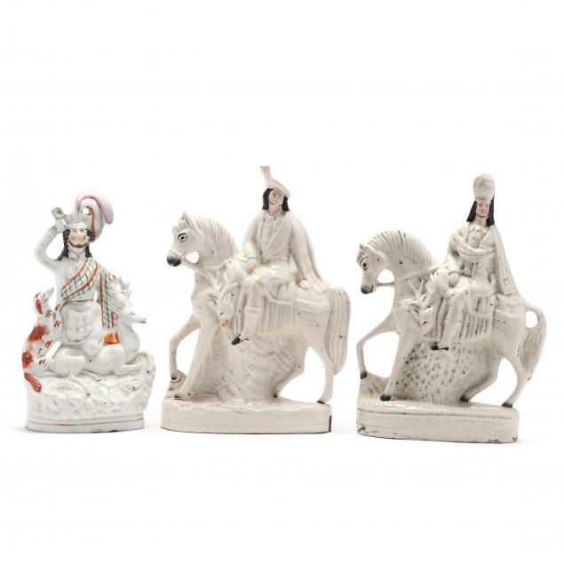 three-staffordshire-figurines-of-stag-hunters