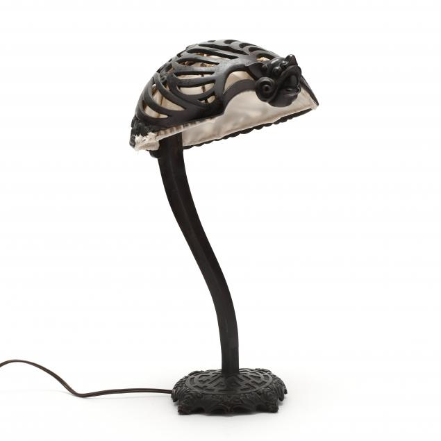 asian-bronze-bat-table-lamp