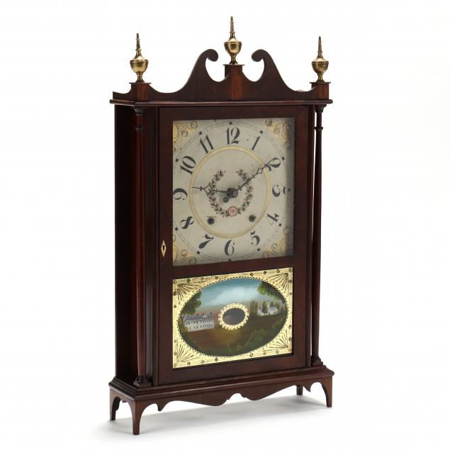 charles-kirke-pillar-and-scroll-mantel-clock