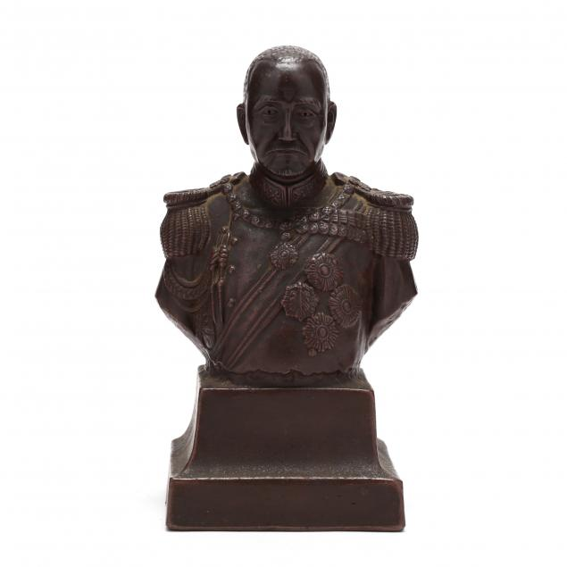 a-ceramic-bust-of-a-japanese-emperor