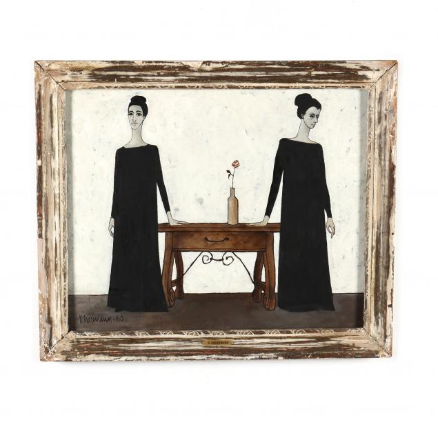keith-ingermann-in-fl-1929-2012-two-women-by-a-table
