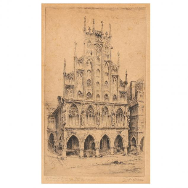 paul-geissler-german-1881-1965-cathedral-facade