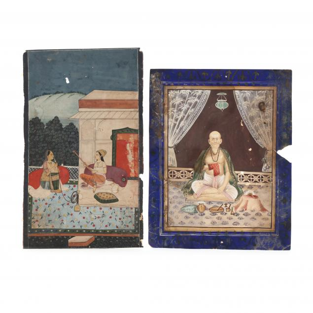 two-indian-miniature-paintings