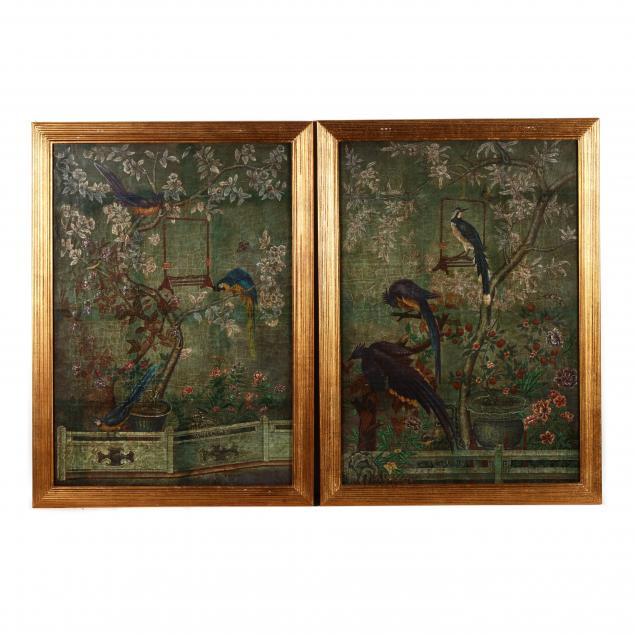 pair-of-chinoiserie-bird-flower-decorative-panels