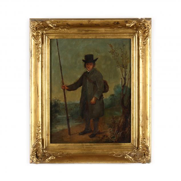 an-antique-english-school-painting-of-a-traveler