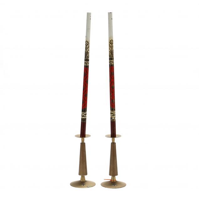 a-pair-of-vintage-brass-altar-candlesticks