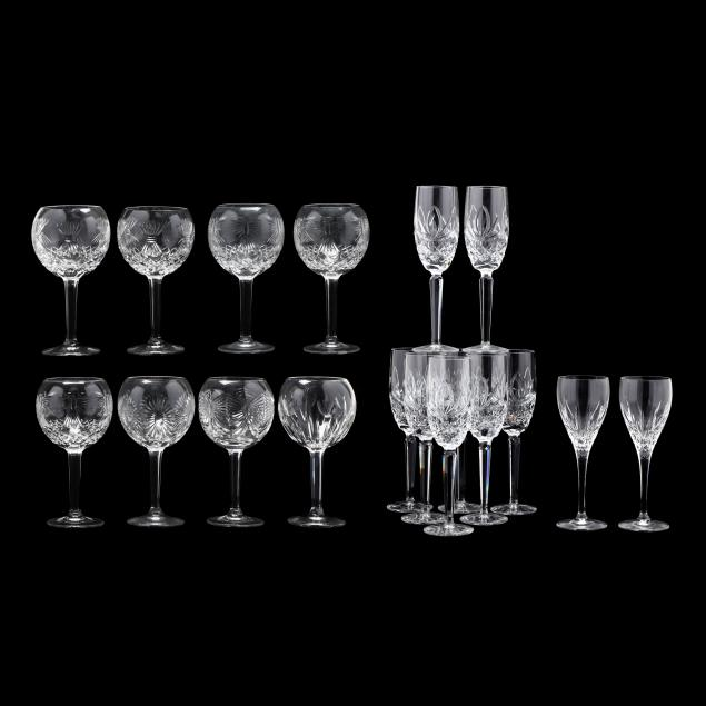 a-grouping-of-waterford-stemware