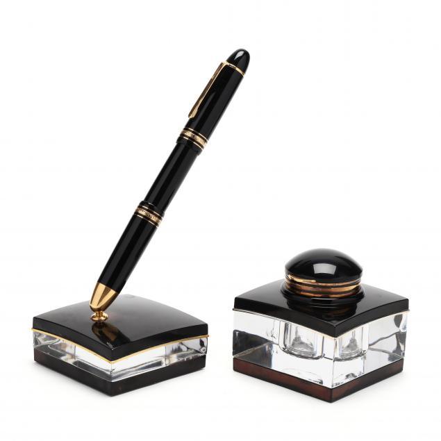 montblanc-meisterstuck-three-piece-pen-set
