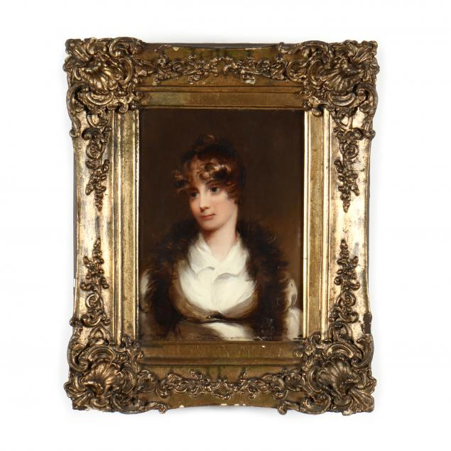 style-of-thomas-sully-american-1783-1872-portrait-of-a-young-woman