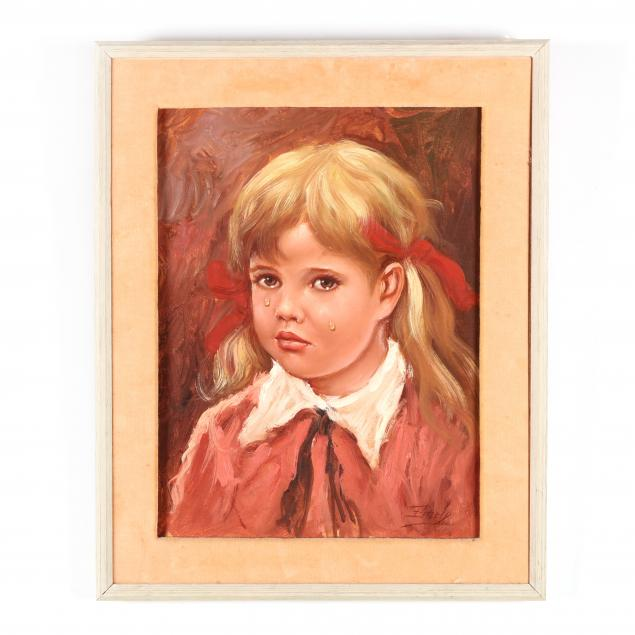 midcentury-portrait-of-a-tearful-young-girl