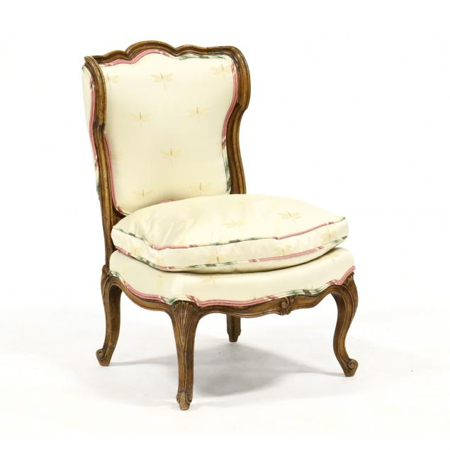 french-provincial-style-slipper-chair