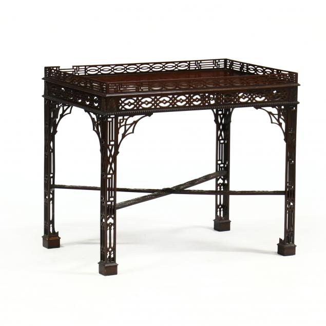chinese-chippendale-style-mahogany-tea-table