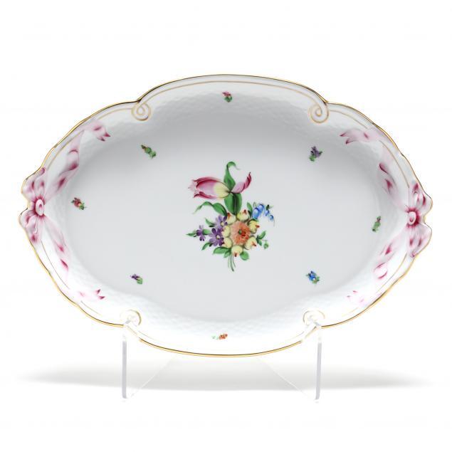 herend-i-printemps-i-porcelain-oval-tray