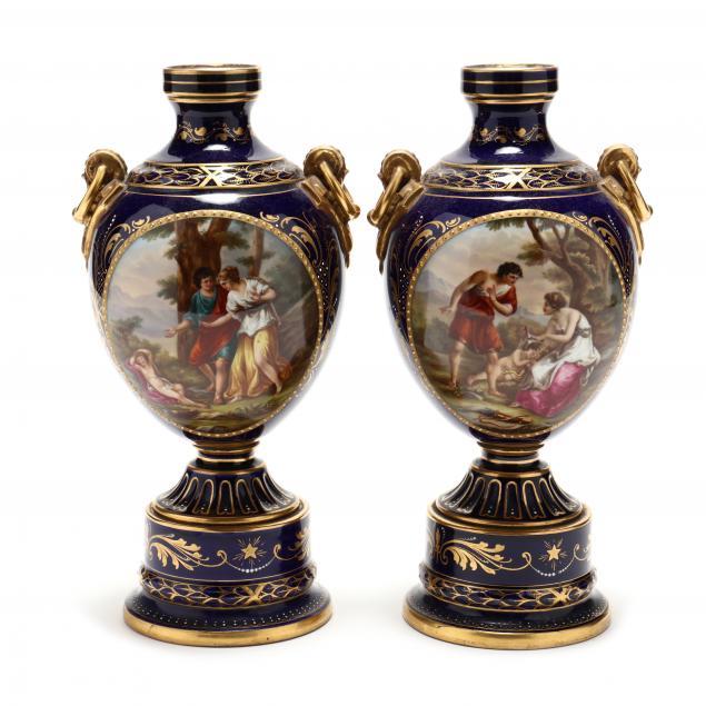 pair-of-antique-vienna-mantel-vases
