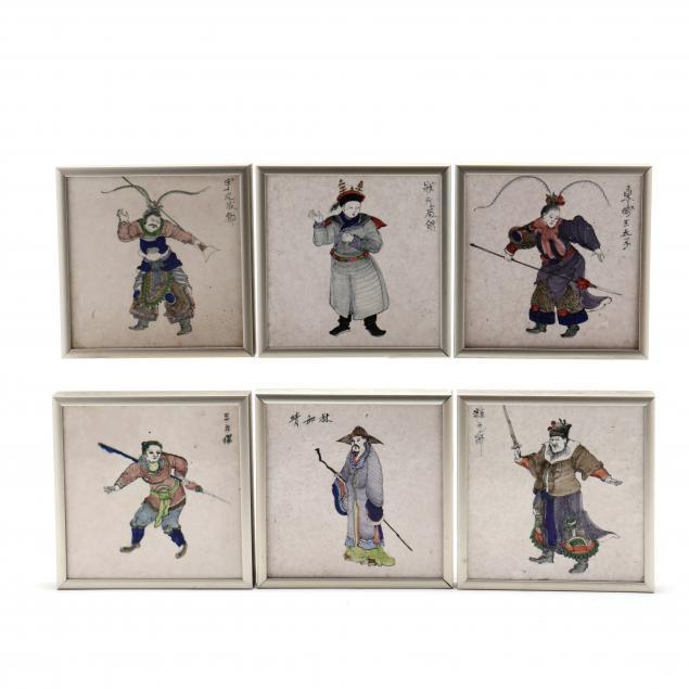 six-polychrome-asian-figural-tiles-attributed-to-i-royal-tichelaar-makkum-i