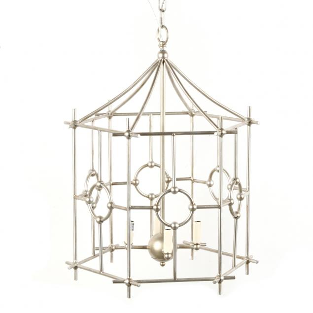 contemporary-faux-bamboo-pendant-light