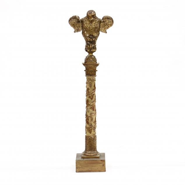 antique-italianate-carved-and-gilt-eagle-lectern