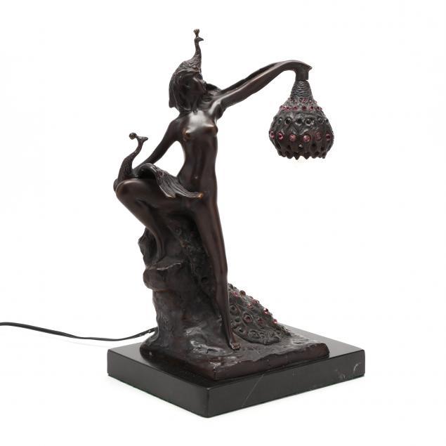 bronze-figural-art-nouveau-style-table-lamp