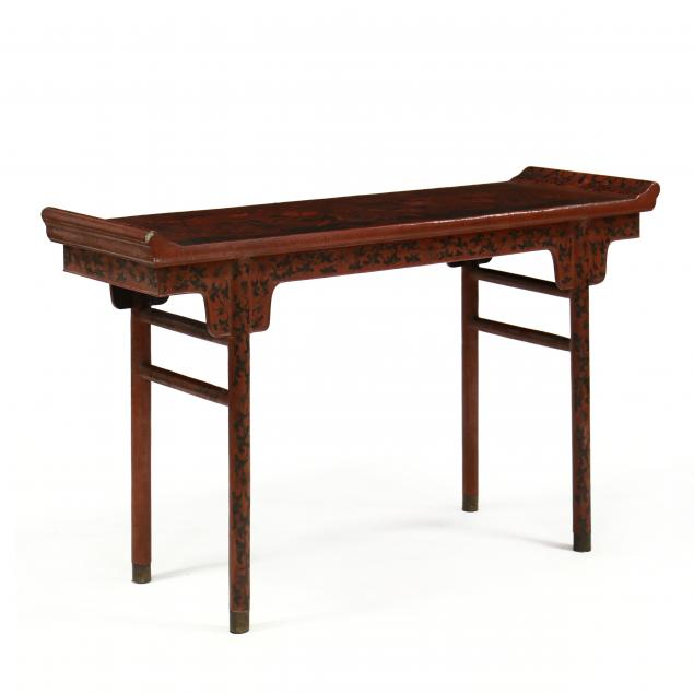 antique-chinese-lacquered-altar-table