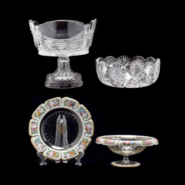 four-pieces-of-antique-glass