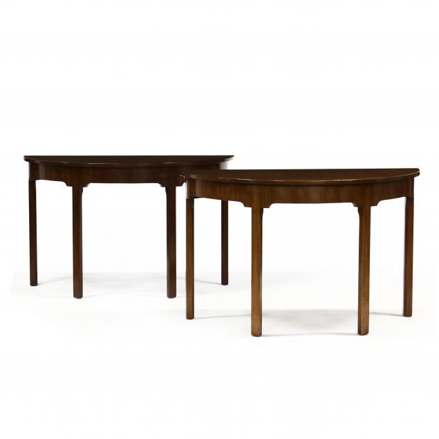 kittinger-pair-of-williamsburg-restoration-mahogany-demilune-tables