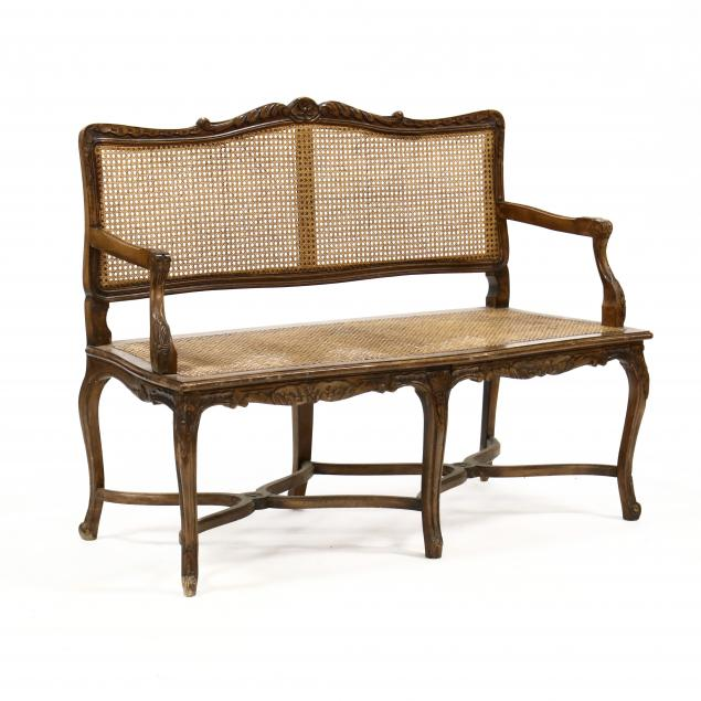 louis-xv-style-carved-cane-seat-settee