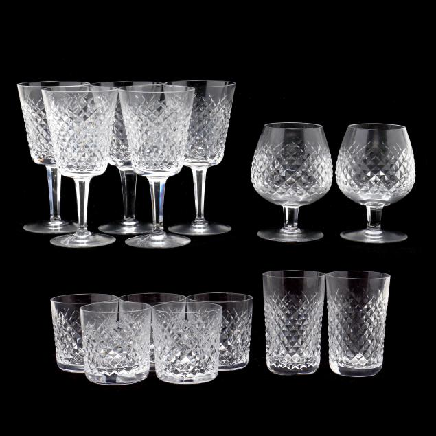collection-of-waterford-i-alana-i-cut-crystal-glassware