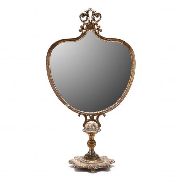 antique-italian-carved-and-gilt-mirror-on-pedestal