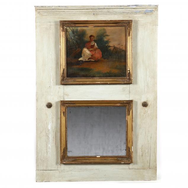 antique-french-trumeau-mirror