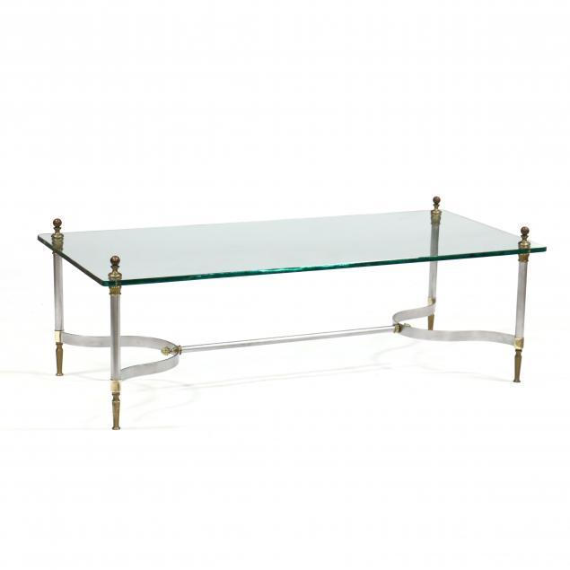 att-jansen-steel-brass-and-glass-coffee-table