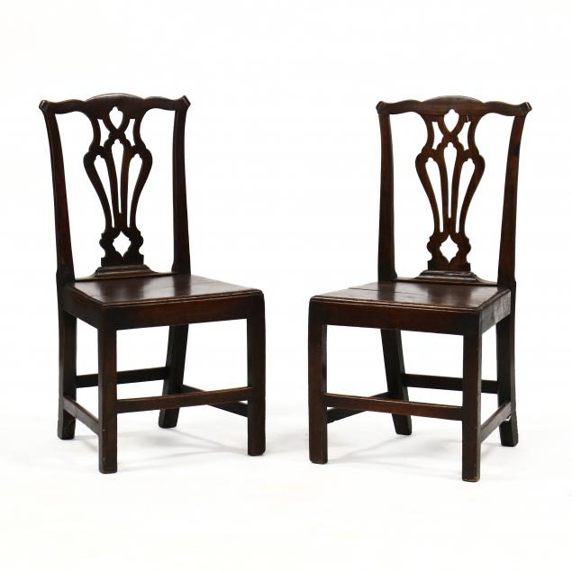 pair-of-english-chippendale-oak-plank-seat-side-chairs