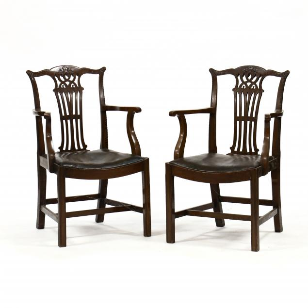 a-pair-of-chippendale-style-mahogany-armchairs
