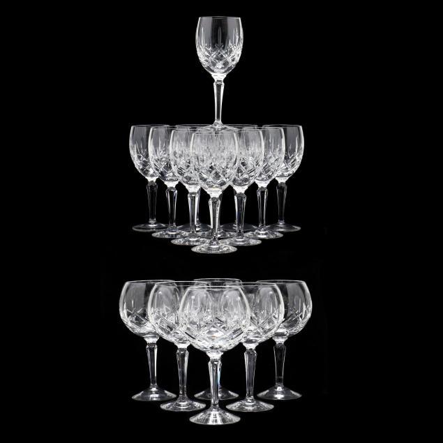 seventeen-pieces-of-gorham-i-lady-anne-i-crystal-stemware