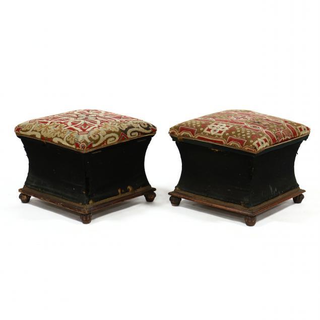 pair-of-william-iv-mahogany-ottomans