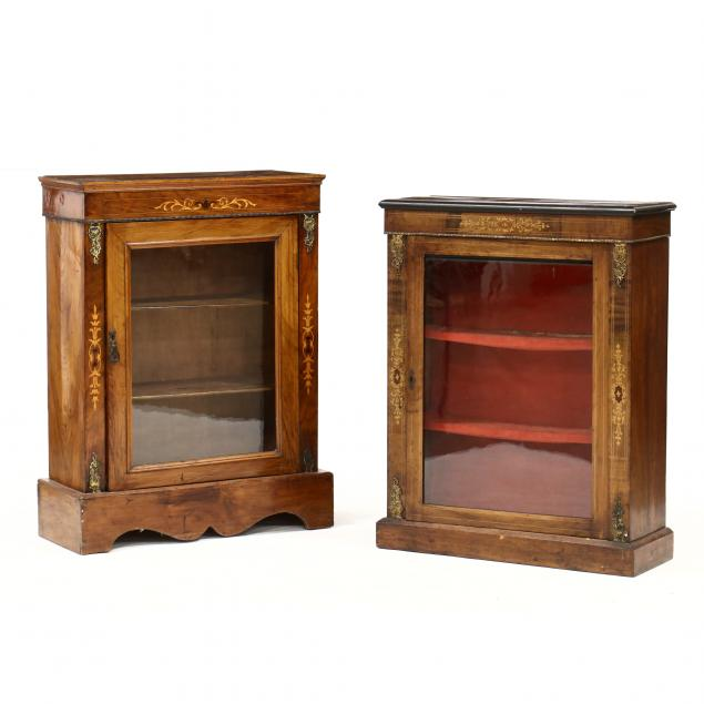 two-similar-inlaid-french-diminutive-bookcases