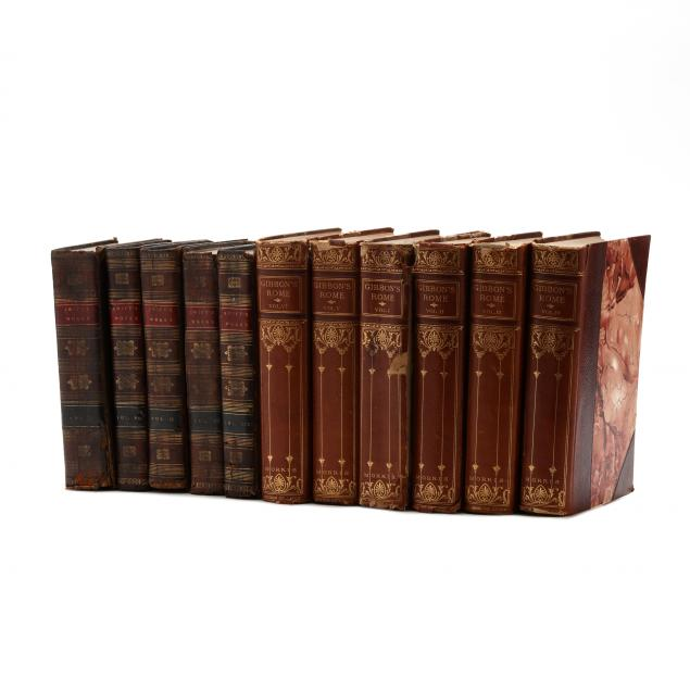 two-sets-of-leatherbound-books