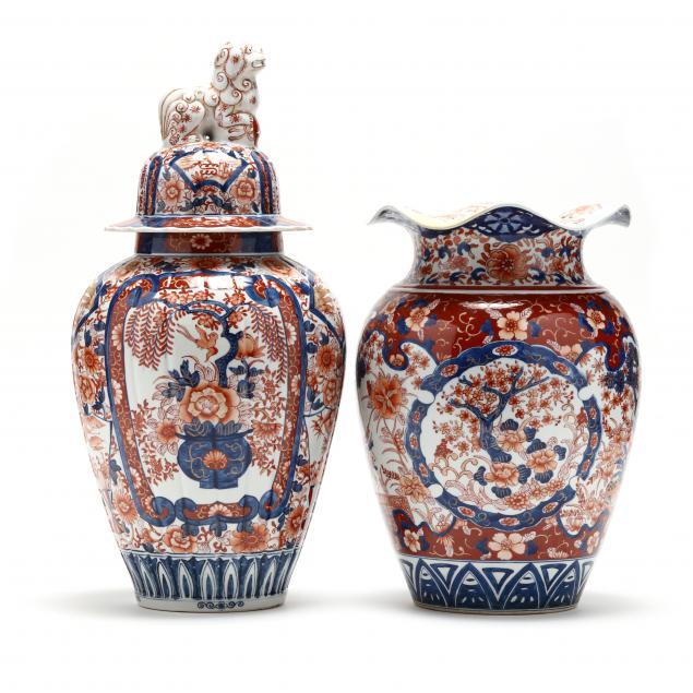 two-japanese-imari-porcelain
