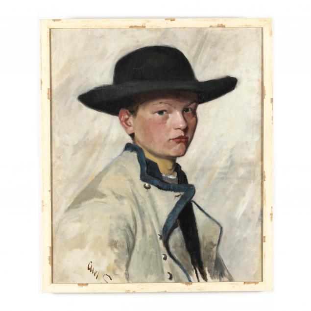 continental-school-early-20th-century-portrait-of-a-boy