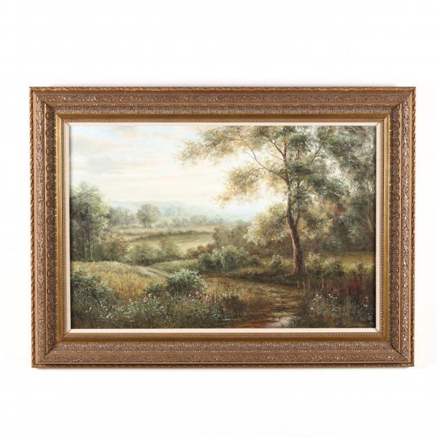 b-stockhowe-german-born-1948-pastoral-landscape-with-meandering-path