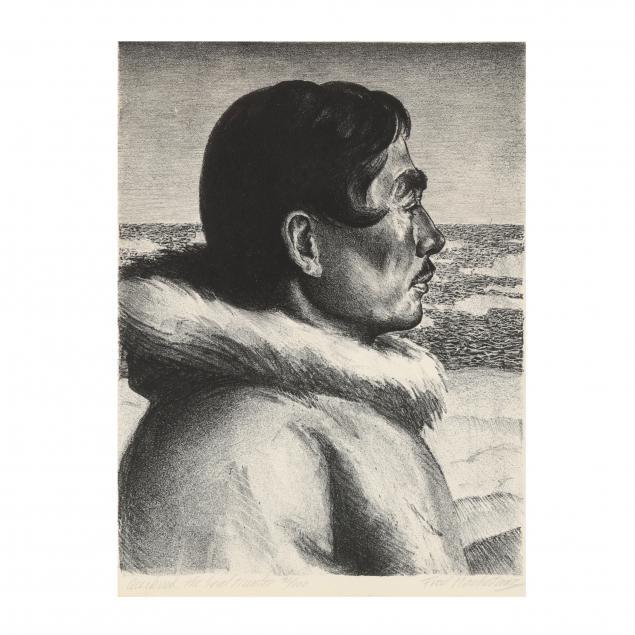 fred-machetanz-american-1908-2002-i-accibuk-the-seal-hunter-i