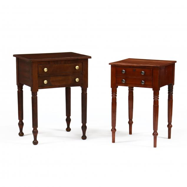 two-american-sheraton-two-drawer-stands