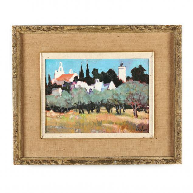 peter-deluca-french-20th-century-alpilles-france