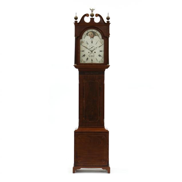 antique-english-inlaid-mahogany-tall-case-clock-george-stockton