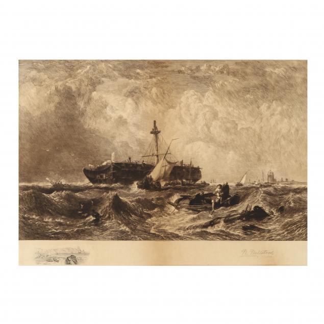 william-wellstood-british-american-1819-1900-maritime-ship-wreck-scene