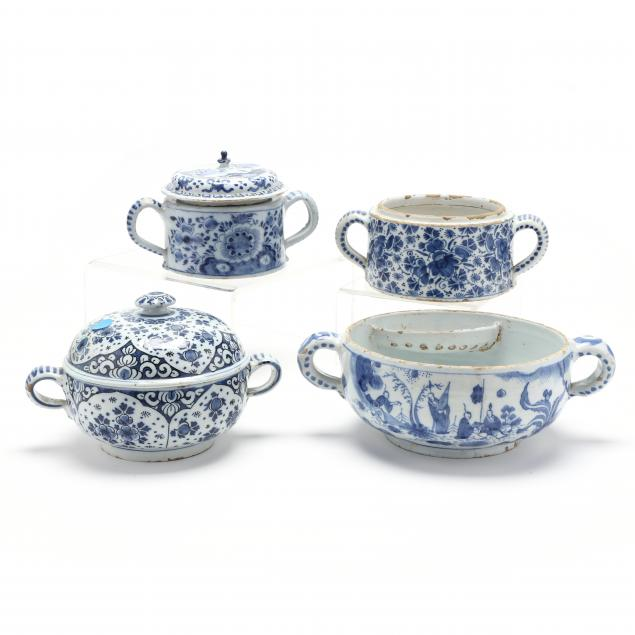 four-dutch-delft-spiced-wine-bowls